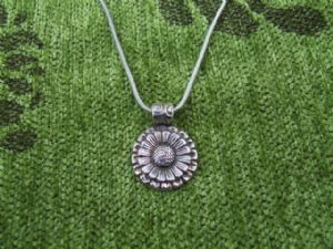 Sunflower Pendant (plpcj28)